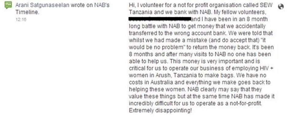NAB Complaint